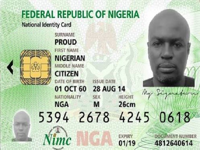 NIMC Implores 'Eligible' Nigerians To Come For Their National Identity Card Today