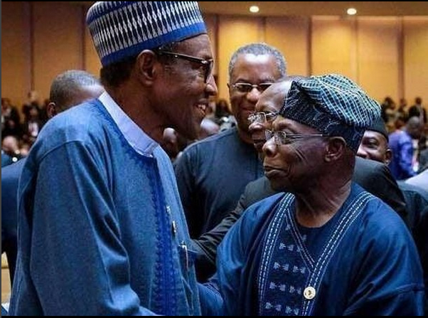 'Buhari is a failure, don't vote him in 2019' Obasanjo tells Nigerians