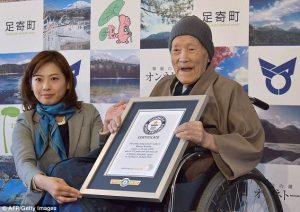 112-year-old Japanese man is confirmed as the world's oldest living man (PHOTOS)