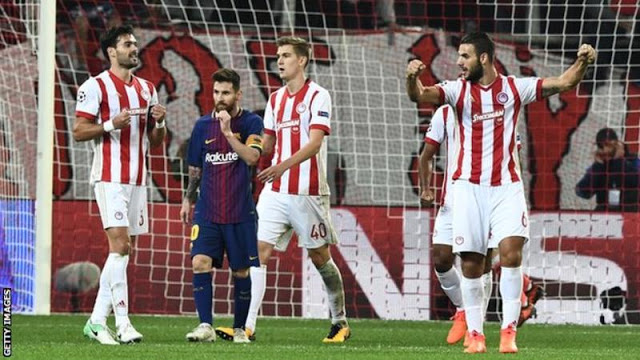 Olympiakos Players Fined £350,000 & Ordered To Go On Holiday For This Shocking Reason