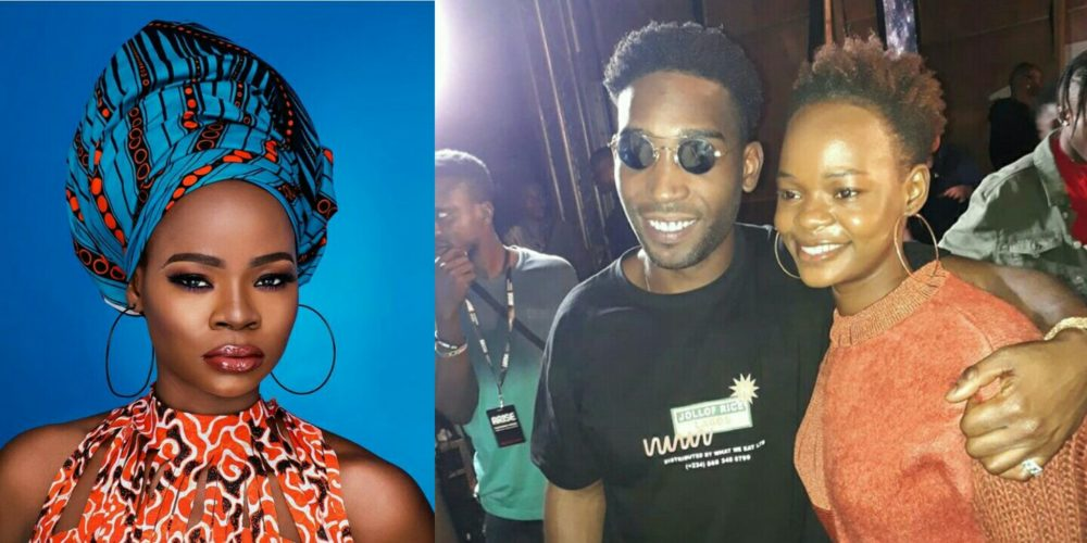 Olajumoke Orisaguna Walks The Runway For British Popstar Tinie Tempah (Video)