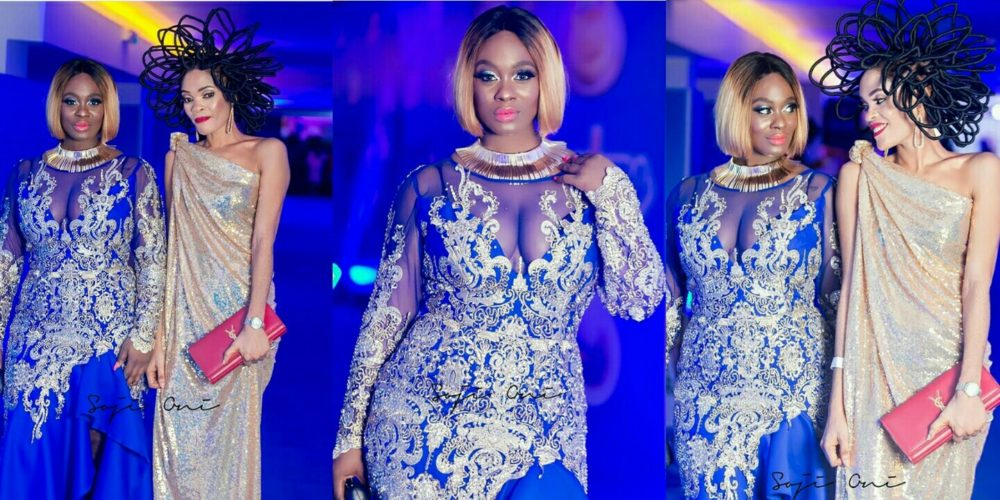 #BBNaija: Photo Shows Uriel 'Taking Hair' Lessons From Chika Lann The Model Who Claimed Her Hair Is Worth N40m