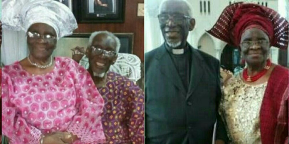 Meet Elderly Nigerian Couple Who Have Been Married For 62 Years