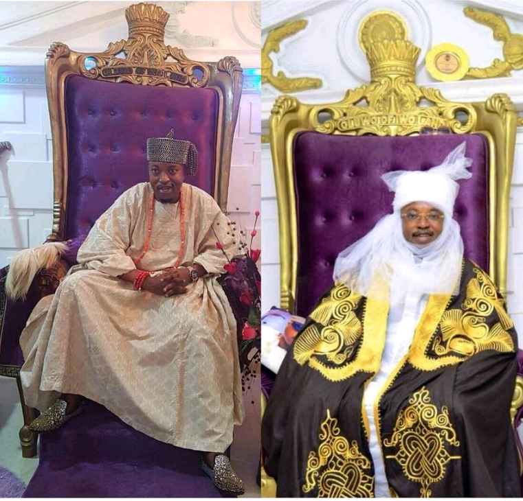 Oluwo Of Iwoland drops title, becomes Emir.