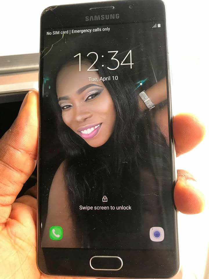 Man Exposes Lady Who Stole His Phone After Visiting His House (Photos)