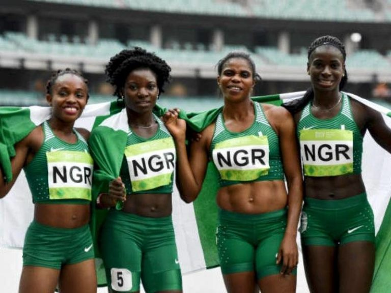 Nigeria's 4x400m Women Win Silver Medal At The Commonwealth Games