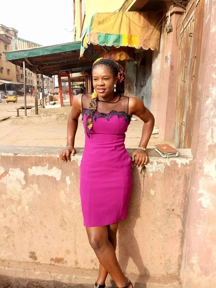 Nigerian lady sent out of church for indecent dressing in Onitsha, see what she wore (photo)