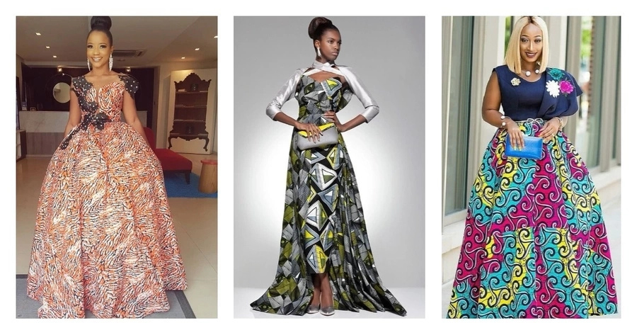 7 top Ankara Evening Gowns Trends for Real Fashionistas (Photos ...