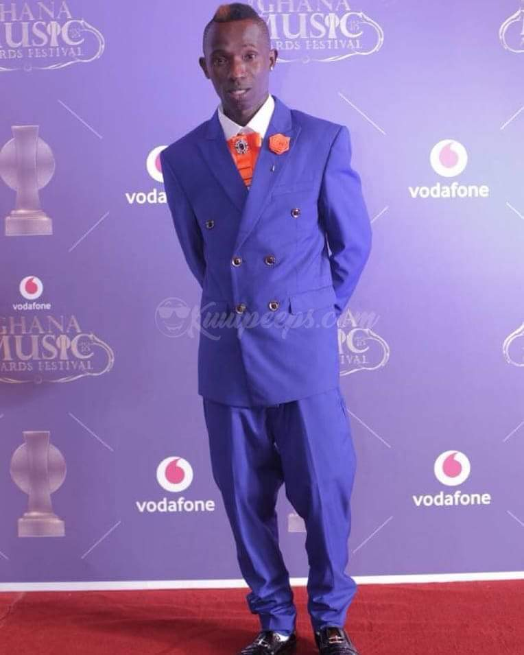 "See What ""One Corner"" Star Wore To Ghana Music Awards (Hilarious Photo)"
