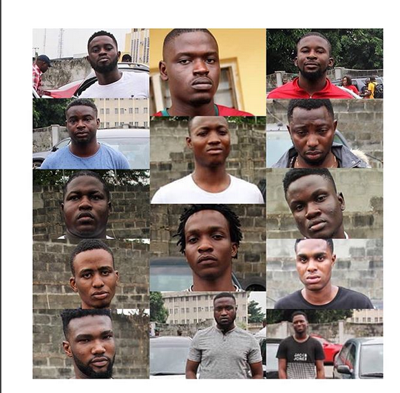 EFCC picks up 14 yahoo boys