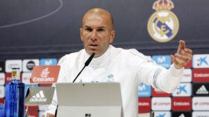 Why i substituted Ronaldo in Madrid's 1-1 draw with Atletico – Zidane
