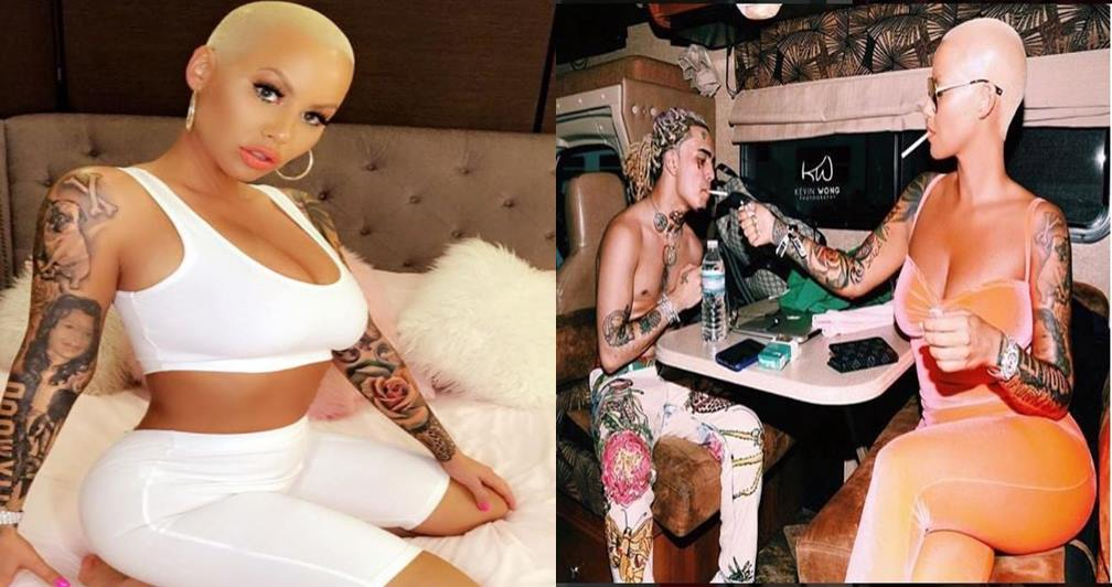 Amber Rose, 34, Sparks Dating Rumours After Being Spotted With 17-Year-Old Rapper Lil Pump (Video/Photo)