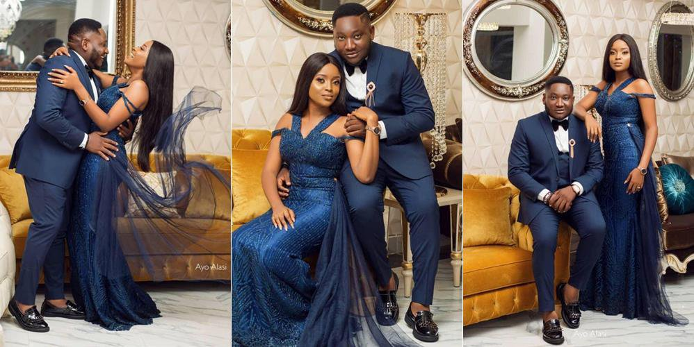 Lovely Pre-Wedding Photos Of Nigerian Comedian Ajebor And His Fiancee Uchechi