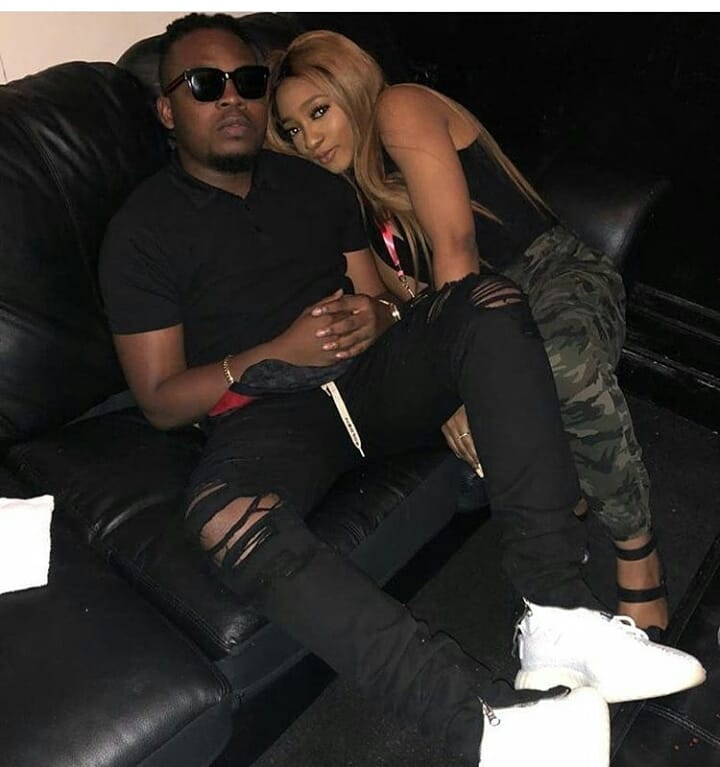 Olamide And Fiancee Loved Up In London.. (See photos)