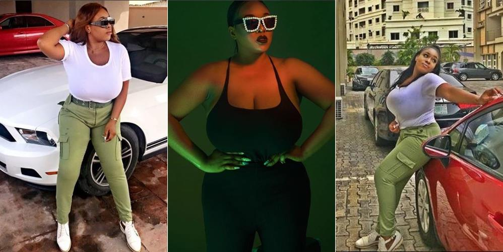 Plus Size-model With Biggest Assets is Causing Stir on Social Media Due to Some Photos She Shared