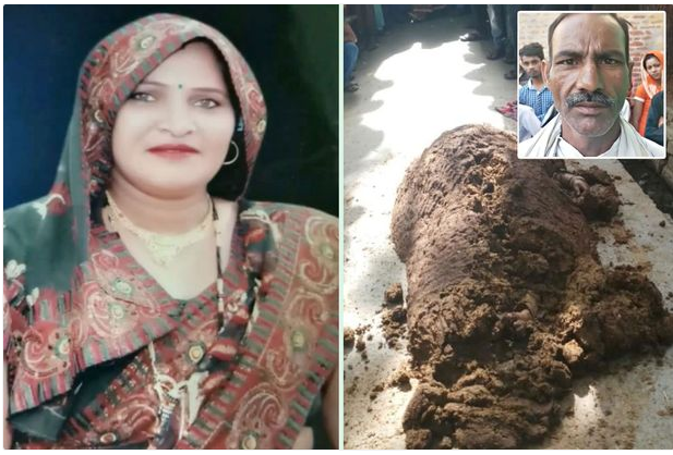 Woman Buried Alive By Snake Charmer While Trying To Heal Her (Photos)