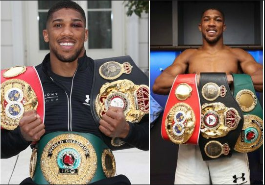 Anthony Joshua Reveals The Team He Will Support During England-Nigeria Match