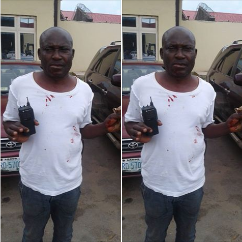 Imposter Who Makes Up To 10K Daily From Extorting Lagos Motorists, Arrested (Photo)