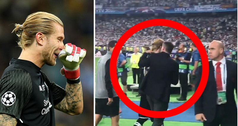 What Liverpool Players Did To Their Goalkeeper After Blunders At The Champions League Final