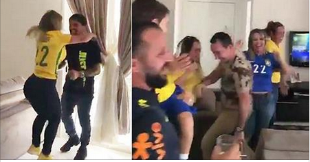 See The Exciting Moment A Brazilian Player Found Out He Made The World Cup Squad