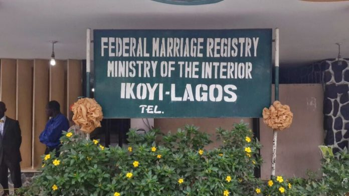 It Is Now Illegal To Marry At Ikoyi Marriage Registry, Says Court