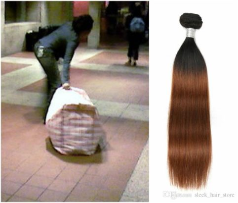 Nigerian lady allegedly gets deported from the U.S over weaves