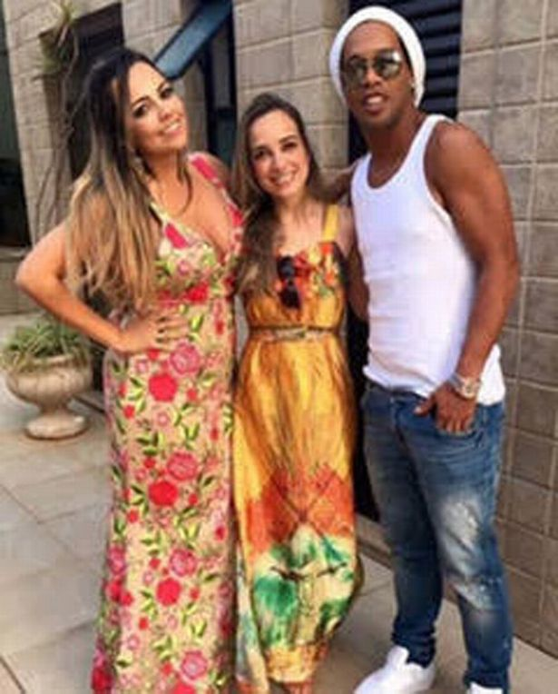 Football Legend Ronaldinho Set To Marry Two Women At The Same Time (Photos)