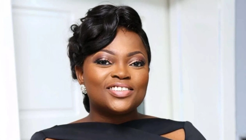 Funke Akindele's Step Daughter, Son and Husband (Photos)