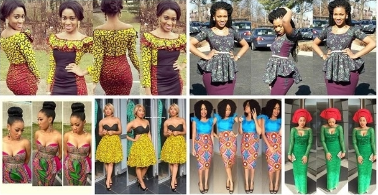 Lace and Ankara Combinations