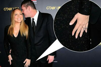 Mariah Carey Sells Diamond Ring From James Packer