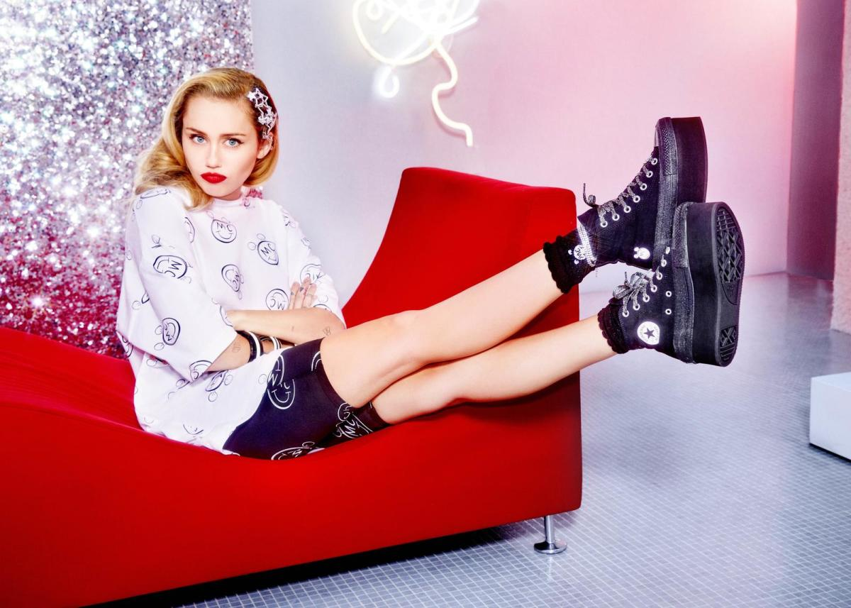 Miley Cyrus Just Debuted Her Converse Collection
