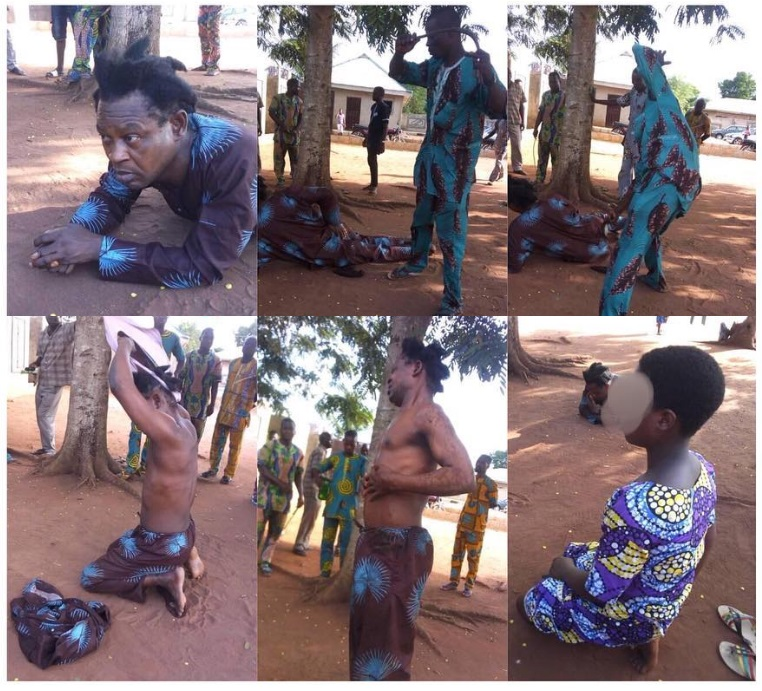55year Old Nigerian Pastor Flogged For Abducting And Impregnating A 10-Year-Old Girl