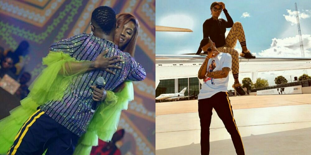'Being 100% comfortable around somebody is so rare but beautiful' – Tiwa Savage Says After Partying With Wizkid
