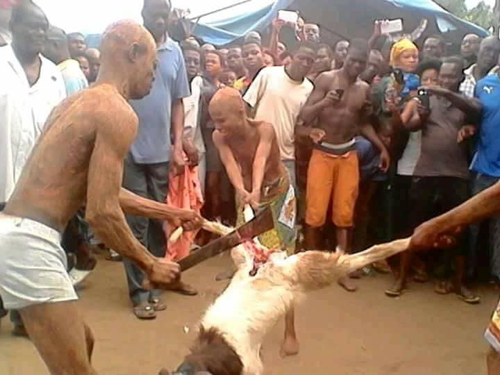 Family Undergo Ritual After Father Is Caught Having Sex With Daughter (Photos)