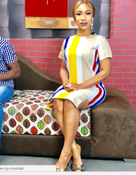 'My Social Media Account is My Pulpit'- Tonto Dikeh Says As She Casts of Devil on IG