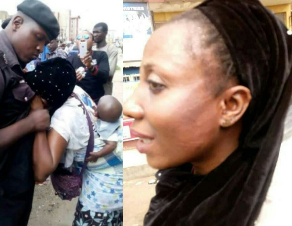 Policeman Slaps Married Woman Because Of This (Photos)
