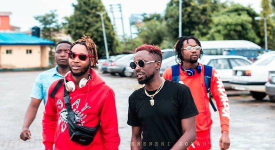 "Erigga Re-unites With Yung6ix At His ""thank You Concert"" In Benin"