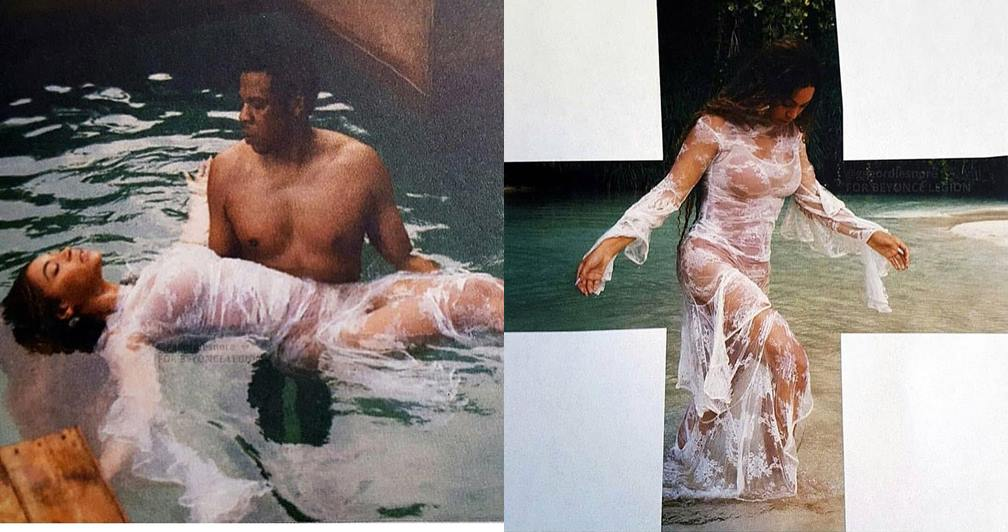 Jesus and John the Baptist? These Photos of Jay Z and Beyonce Got People Thinking