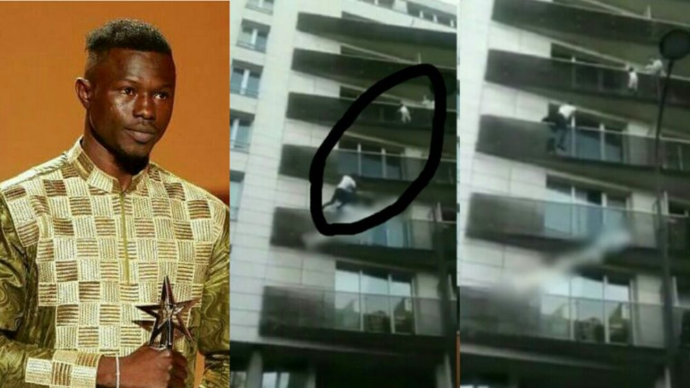African Man Who Scaled Building To Save Child In France Honoured At BET Awards