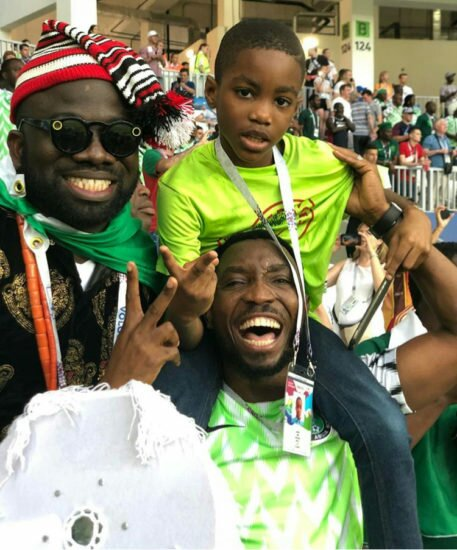 Timi Dakolo And Son Are Having The Best Of Their Time In Russia And Here Is Proof (Photos)