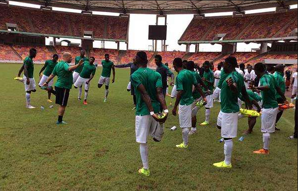 See Super Eagles' Starting Lineup Against England Ahead Of Today's Match