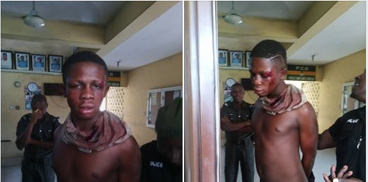 See The Young Kidnapper Who Abducted Some Residents In Rivers State (Photos)