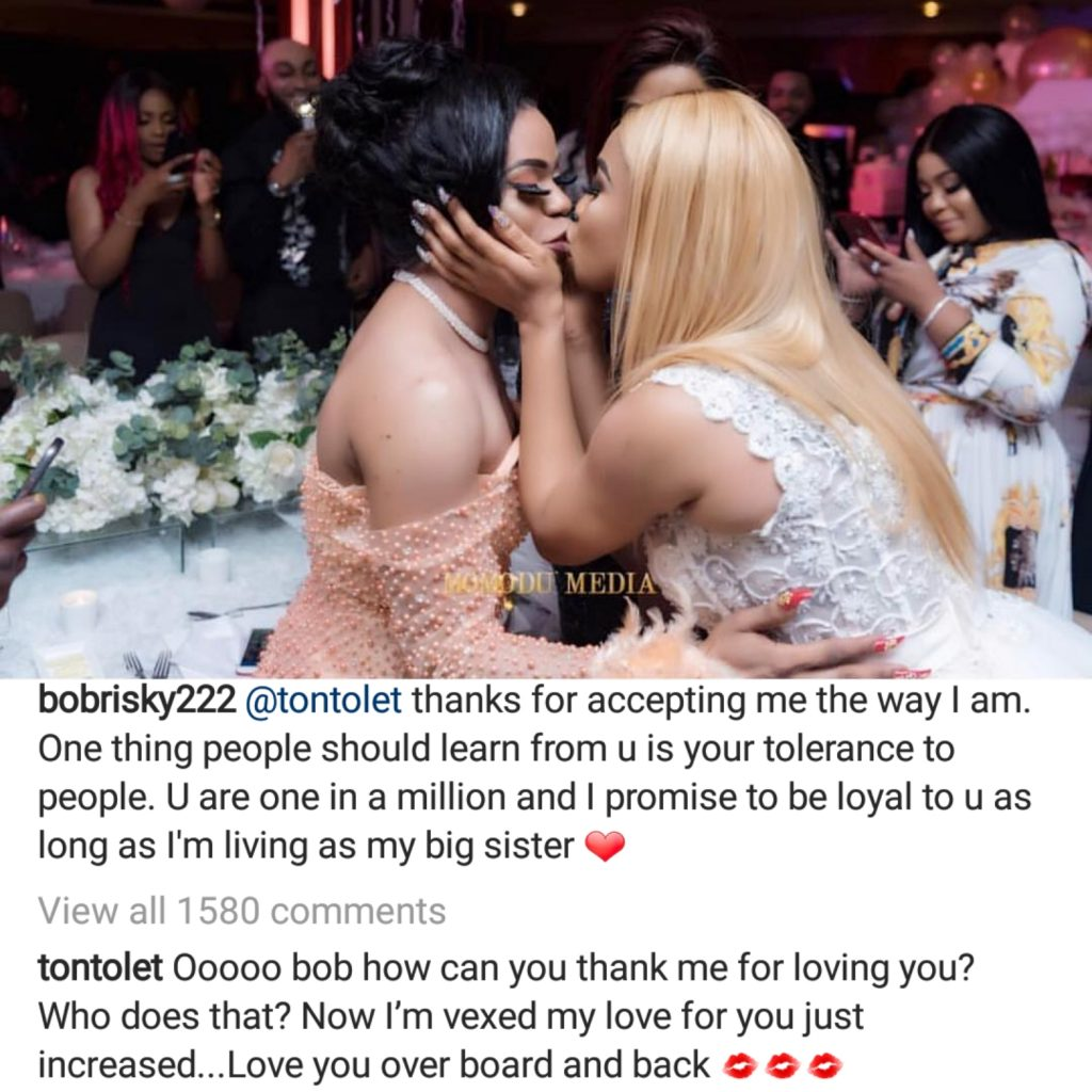 Thanks For Accepting Me The Way I Am- Bobrisky Thanks Tonto Dikeh