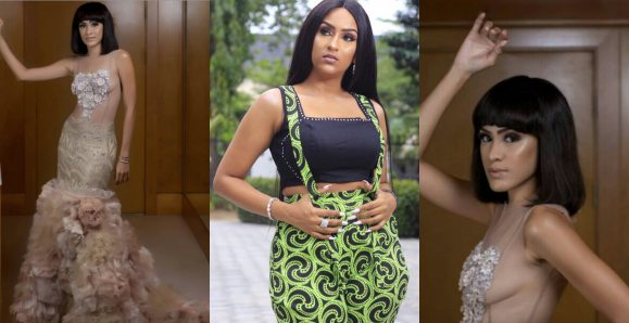 Sonia Ibrahim Slays In Br@less See-Through Outfit , Juliet Ibrahim Reacts (Photos)