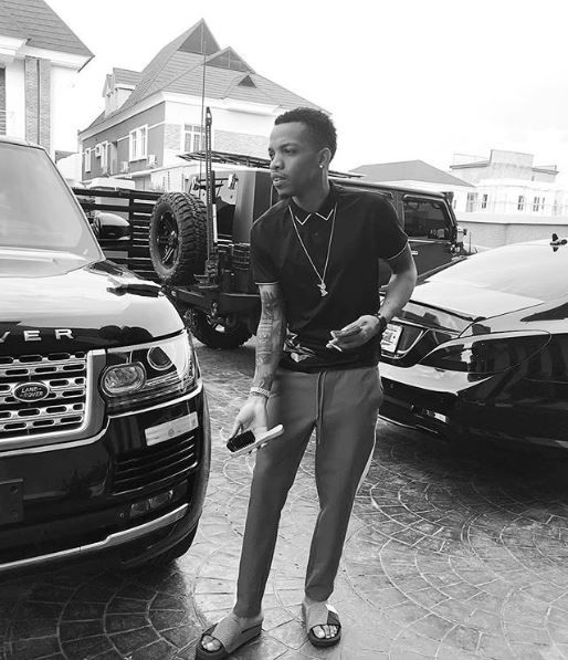 Singer, Tekno Shows Off His Intimidating Garage (Photo)