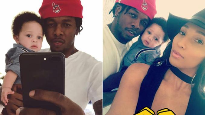 Runtown Celebrates His Son, Zamar As He Turns One