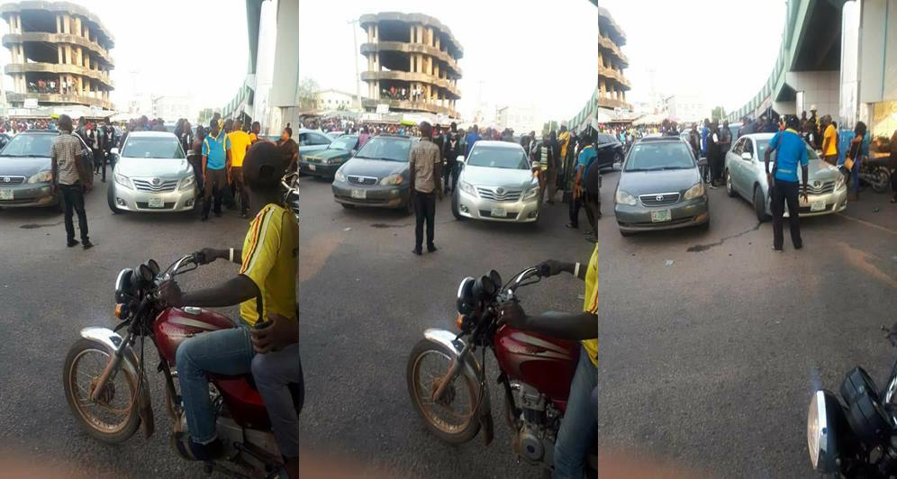 Youths Resist SARS Harassment in Abeokuta. (Photos)