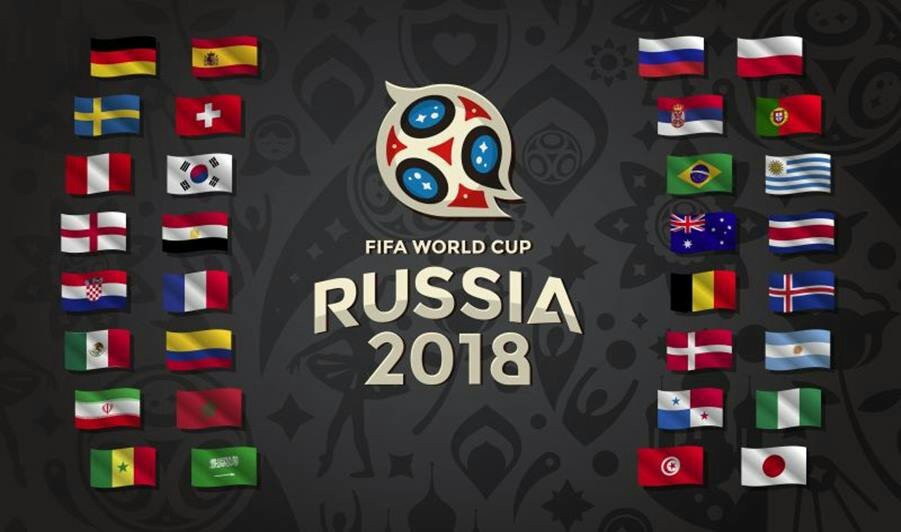Russia 2018 World Cup Fixtures, See Time And Dates