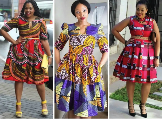 20 Most Beautiful Ankara Flare Gowns To Wear In 2018 Photos