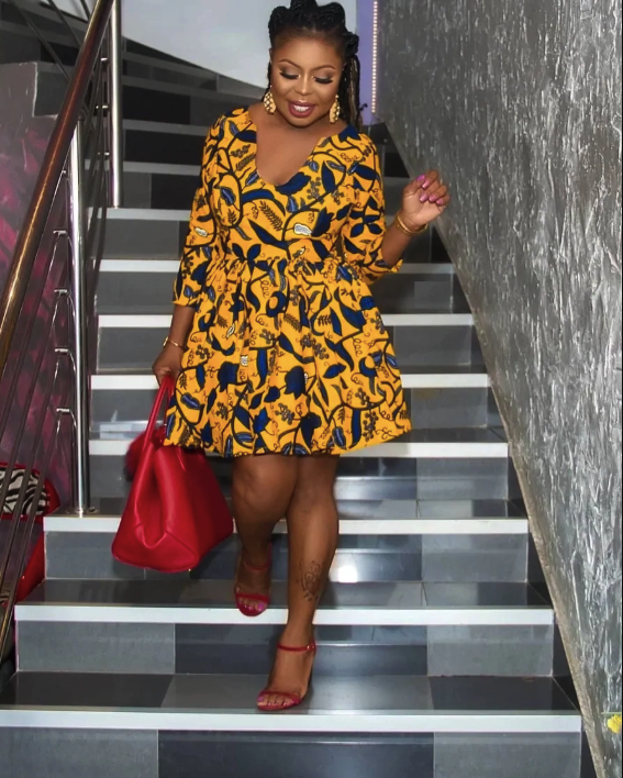20 most beautiful Ankara flare gowns to wear in 2018 (Photos)